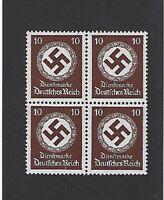 MNH Large WWII emblem stamp BLOCK 1934 PF10 / MNH taken from an original sheet
