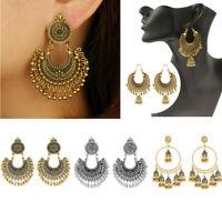 Boho Indian Jhumka Gypsy Jewelry Fashion Vintage Ethnic Women Drop Earrings Gift