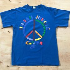 Vintage 90's Nike Urban Jungle Gym T-Shirt Large Blue Spike Lee