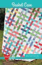 BASKET CASE Moda CLUCK CLUCK SEW Jelly Roll Friendly QUILT PATTERN