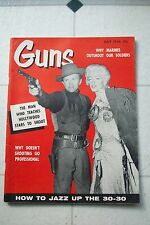 1956 MARILYN MONROE GUNS MAGAZINE COVER RIVER OF NO RETURN