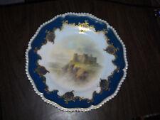 ROYAL WORCESTER Plate Harlech Castle John Stinton