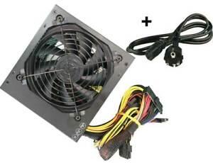 ATX PC Netzteil 600W Schwarz