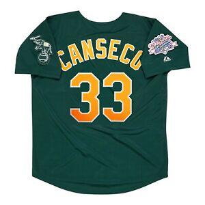 Jose Canseco Oakland Athletics 1989 World Series Alternate Green Men's Jersey