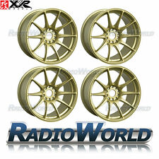 "XXR 527® 18"" x8.75 / ET20 5X114.3 + 5x100 Light Alloy Wheels Rims Gold"