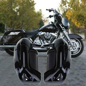 Lower Leg Fairing Jambe Carénage Pour Harley Touring Road King Street Glide FLHT