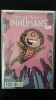 Uncanny Inhumans Annual 1 Variant Edition Marvel High Grade Comic Book RM8-44