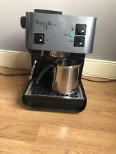 Starbucks Barista Saeco espresso Coffee machine stainless steel silver