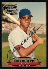 BILLY WILLIAMS 1996 Canadian Club Classic Autograph  HOF Chicago Cubs