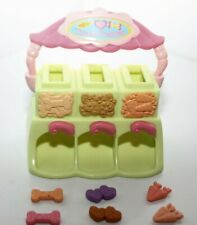 Littlest Pet Shop LPS TREAT CENTER Bones Hearts Carrots accessories Lot