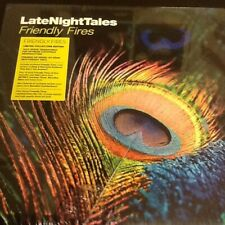 LATE NIGHT TALES - FRIENDLY FIRES - COLLECTORS EDITION VINYL + CD NEW