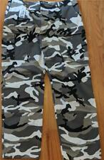 $795 Mens Authentic Balenciaga Camo Print Cargo Pants 54 US 44