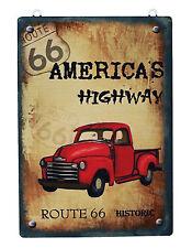 New Designed  Americas Highway Route 66 Metal Antique Wisdom Sign