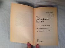 The Julian Symons Omnibus - SIGNED BY AUTHOR - 1st/1st 1984 - Penguin