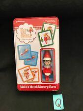The Elf on the Shelf® MAKE A MATCH MEMORY GAME Christmas game by Pressman  NIB