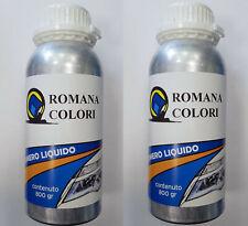 2 CONFEZIONI 800GR RICARICA liquido polimero liquido per lucidatura fari auto