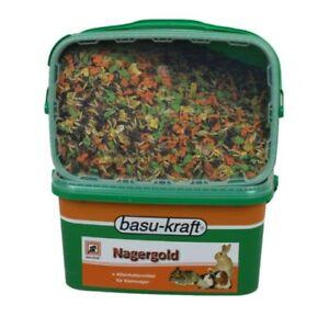 Nagergold 3 kg - Alleinfutter für Kleinnager Meerschweinchen Zwergkaninchen