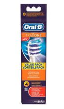 4x Oral B Aufsteckbürsten Braun Trizone Tri zone Ersatz NEU Promotion