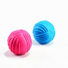 Indestructible Solid Rubber Ball Pet cat Dog Training Chew Play Fetch Bite