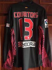 Camiseta Player Issue Atletico De Madrid. Match Un Worn Short Tibaud Courtois