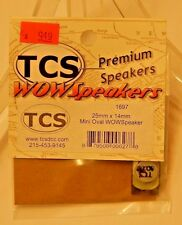TCS #1697 WOW Speaker 25mm x 14mm Mini Oval for DCC NEW