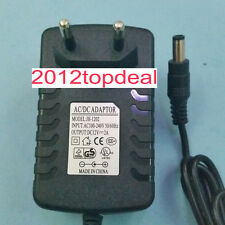 EU Plug Adapter AC 100-240V To DC 12V 2A Power Supply For 3528 5050 Strip LED