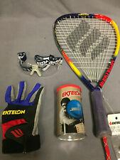Ektelon Raquetball Starter Kit.  Raquett, Balls, Glove, Eyewear