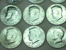 20 Coins -- 1976 - S (17 Silver Kennedy Half Dollars + 3 Copper Clad) All S Mint