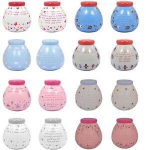 Personalised Pots Of Dreams Ceramic Money Box Pot Savings Fund Coins Piggy Bank