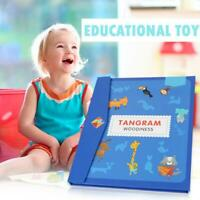 Magnetic Educational Jigsaw Puzzle Tangram Toy Wooden Gaming Board Children Toys