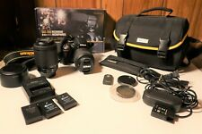 Nikon d5100 Digital SLR Camera (2 Lenses/3 Batteries + MORE) >READ DESCRIPTION