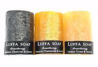 SOAP LUFFA Aroma Multi Scents Honey Herbal Scrub Whitening Remove Black Spots