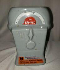 Tetanus Diphtheria Shots Pharmaceuticals Promotional Pharmacy parking meter