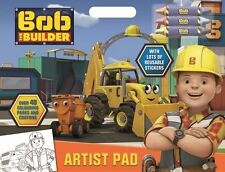 Bob The Builder Childrens Boys Girls Artist Pad Colouring Activity Set Ages 3+