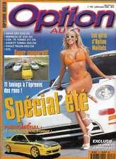Magazine Option auto N° 103 juillet & aout 1999