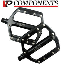 VP Components 516A Alloy Bike Platform Track Pedal Black// Silver Mountain Hybrid