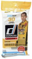 NASCAR Panini 2020 Donruss Racing Trading Card VALUE Pack [30 Cards!]