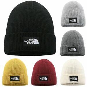 Winter Hat Skull Cap Wooly Beanie Warm Knitted Skiing Wear Womens Mens Ladies AU