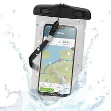 Wasserfeste Schutztasche Outdoor Schutzhülle für Smartphones mit 4,0 - 5,2 Zoll