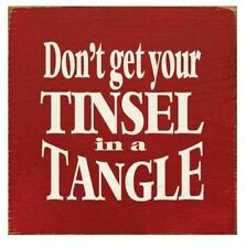 Don't Get Your Tinsel In A Tangle (7x7)