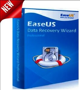EaseUs Data Recovery Wizard Professional-Lifetime License-Best Price-Fast Dely