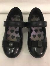 Clarks Girls School Shoes Size UK 7 G Infant / EUR 24