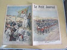 Le petit journal 1897 n° 359 Prophète musulman aux indes prédication guerre sain