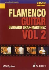 Flamenco Guitar Vol. 2 DVD NEW Schott 049013141