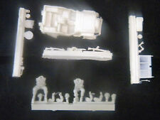 Milicast BB070F 1/76 Resin WWII British Airborne Jeep with Two Crew Figures
