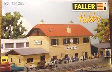 "FALLER, HO,131288, "" Bahnhof "" Neufeld """", siehe Fotos !, Neu und OVP !!!"