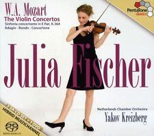 Julia Fischer, W.a. Mozart - Violin Concertos [New SACD] Boxed Set