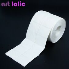 Artlalic Roll of Lint Free Nail Art white Pads Cotton Cleaning Pcs 500 Towel