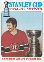 78/79 TOPPS..STANLEY CUP FINALS..# 264..CANADIENS..FREE COMBINED SHIP