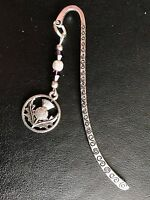 SCOTTISH THISTLE  BOOKMARK TIBETAN SILVER SCOTLAND BIRTHDAY PRESENT IN Gift Bag